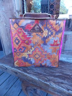 Aztec printed tote from Consuela!  Most durable line of bags everrr!  Find this one and more at www.facebook.com/daisypearlboutiqueboerne