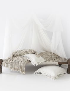 softs | cushions | white