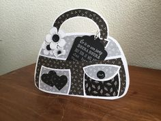 Paper Purse, Marianne Design, Purses And Bags, Craft Stencils, Projects To Try, Paper Crafts, Birthday, Creative, Templates