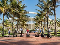 Go on a segway tour through the city of Durban, South Africa - Dirty Boots Adventure Holiday, Adventure Tours, Segway Pt, Kwazulu Natal, Adventure Activities, North Coast, City Beach, Beautiful Beaches, South Africa