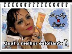 Qual o melhor esfoliante: Mary Kay ou Bourjois? | Luciana de Queiróz