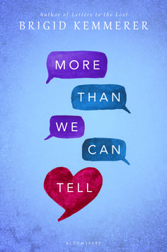 #CoverReveal More Than We Can Tell by Brigid Kemmerer