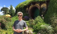 The day Peter Capaldi visited the set of The Hobbit