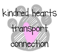 Kindred Hearts Transport Connection:  Mission Statement: To improve the future of all domestic animals through relocation into rescue, foster and/or adoptive homes; to practice and promote foster and adoption programs; to build a national rescue outreach program through education, volunteers, self-support, animal advocates, rescue activities; and to use all reasonable means to carry out these objectives.