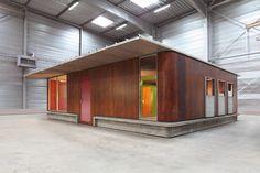 In tandem with Design Miami/Basel this June, Paris Galerie Patrick Seguin will present a prototype of Jean Prouvé's Maison des Jours Meilleurs (Better Days House).   Dwell
