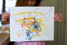 art in motion art project