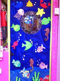 """Jardín Infantil """"Un Mundo de Amor"""": Muestra de decoración mes del mar"""