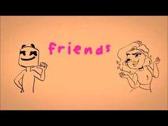 Marshmello Anne Marie Friends Lyric Video Official
