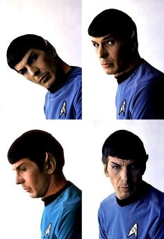 The many facial expressions of Spock