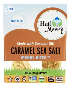 Hail Merry, Macaroons, Sea Salt, Coconut Oil, Caramel, Pure Products, Eat, Glutenfree, Macaroni