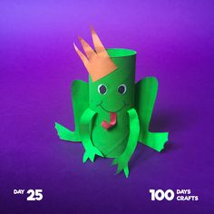Frog Crafts, Fun Diy Crafts, Camping Crafts, Paper Crafts, Classroom Crafts, Preschool Crafts, Projects For Kids, Crafts For Kids, Daycare Forms