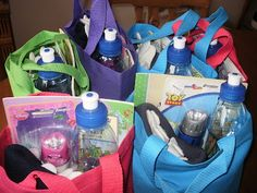 Six Light Up A Life Care Kits to keep kids safe during weather emergencies and natural disasters.  30 -50 needed.  Are you One of Millions?