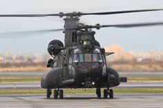 MH-47G from the 160th SOAR preparing to taxi out to the runway at MFR Saturday afternoon.
