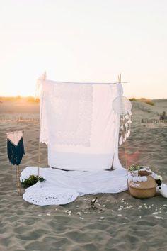 Un mariage bohème sur la plage : inspiration gipsy-chic en Provence Image: 0