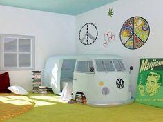 Minibus yatak