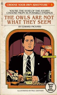 Choose Your Own Adventure - Twin Peaks David Lynch Twin Peaks, Twin Peaks Show, Twin Peaks Poster, Lunar Chronicles, Film Serie, I Movie, Tv Series, Pop Culture, Formica Table