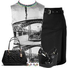 """Wedge into Fall .. again."" by justjules2332 on Polyvore"