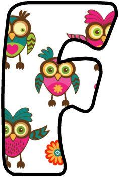 *✿**✿*F*✿**✿* Printable Alphabet Letters, Cute Alphabet, Alphabet Design, Monogram Alphabet, Minimalist Bullet Journal Layout, The Art Of Negotiation, Owl Classroom, Letter Set, Plastic Canvas Crafts