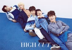 The Liar and His Lover    Sungjoo (UNIQ) & Shin Je Min & Lee Hyun Woo, Lee Seo Won, Jang Ki Yong - High Cut Magazine vol. 195