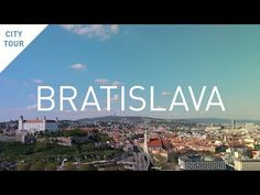 A city tour in about Bratislava, the capital city of Slovakia. Bratislava, Capital City, Tours, Beach, Water, Youtube, Travel, Outdoor, Gripe Water