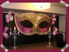 masquerade ball decorations | Masquerade Party Ideas ~ Diana's Birthday/Proposal Masquerade Ball