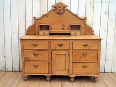An early 20th- century English pine dresser base. Nine drawers over a cupboard base on turned supports. Antiques Atlas Antique Pine Furniture, Antique Dressers, Pine Dresser, Welsh Dresser, Cupboard, Drawers, English, Base, Antiques