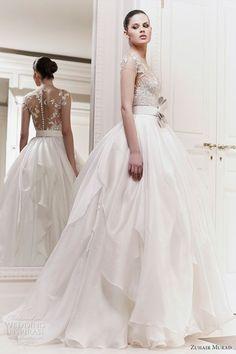 Zuhair Murad Wedding Dresses 2012 #Wedding Photos| http://weddingmaia.lemoncoin.org