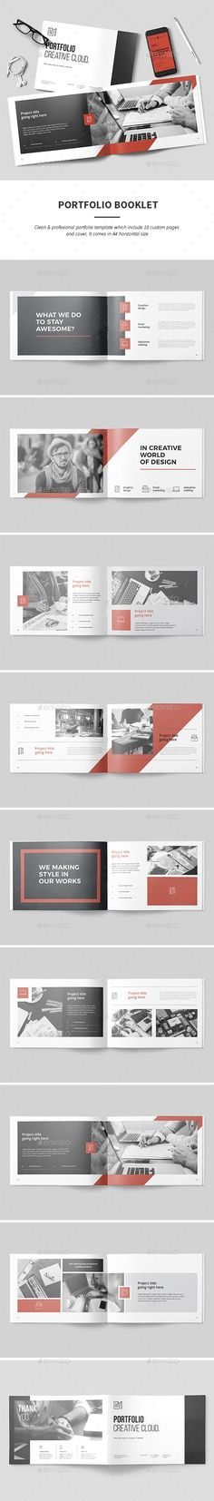 Corporate Brochure \/ Portfolio Corporate brochure, Brochures and - company brochure templates