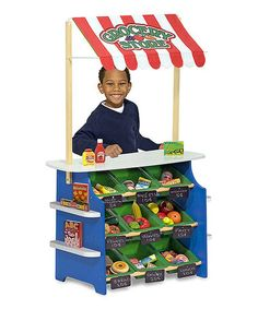 Grocery Store/Lemonade Toy Stand by Melissa & Doug #zulily #zulilyfinds