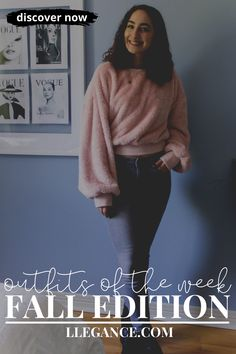 Click here to learn about outfits of the week fall edition on Llegance! You'll find pins about fall outfits women 30s and fall outfits women over 40 casual. Additionally, you'll find pins about fall outfits women 2020 and fall outfits women plus size. As well as, fall outfits women casual and outfits fall 2020 women. Also, fall fashion outfits 2020 and fall fashion trends women over 50. Along with, fall fashion trends women 2019 and fall 2019 fashion trends women over 40. #fall #fashion