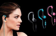 Stride Sport Earbuds with In-Line Mic $8.99!