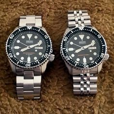 "195 Likes, 47 Comments - eddy wijaya (@eddywijaya85) on Instagram: ""skx007J vs skx007K Dear all my #watchfam and #seikolover  do you know the difference between J…"""