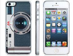 İlginç tasarımıyla telefonunuza tarz katıcak bu iPhone 5 için kamera görünümlü koruyucu kapağı kaçırmayın.