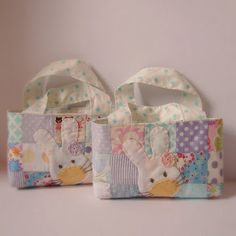 Easter bunny bag from Roxy Creations.