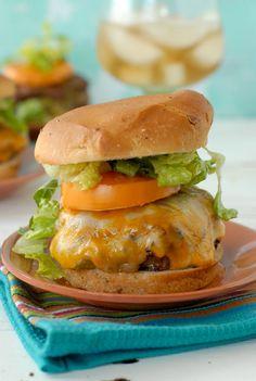 Stuffed Taco Burgers