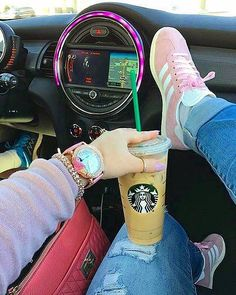 """340 Likes, 26 Comments - MARÍA // Blogger (@bloggingnpink) on Instagram: """"Running around Just wanted to show y'all my pink sneakersThey're my fave right nowI'm also…"""""""