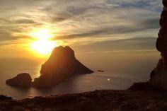 Ibiza Sunset Over Es Vedra