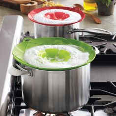 Kuhn Rikon KochBlume Large Spill Stopper Lids | Sur La Table