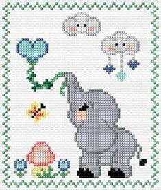 punto croce home Baby Cross Stitch Patterns, Cross Stitch Baby, Cross Stitch Animals, Cross Stitch Flowers, Cross Stitch Charts, Cross Stitch Designs, Cross Stitching, Cross Stitch Embroidery, Embroidery Patterns