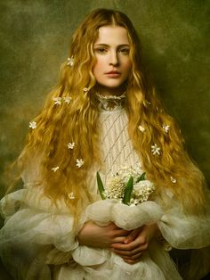 Motherland Chronicles : les portraits picturaux de Jingna Zhang  © Zhang Jingna – Motherland Chronicles – Germaine III