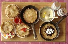 Les crêpes de Stéphanie K. Les couleurs de la cuisson: ouaouh!