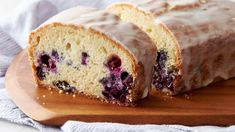 We bet you'd never guess the secret ingredient in this lemon-blueberry pound cake! This genius twist on the classic dessert only takes 15 minutes to prep, and it's all thanks to sugar cookie dough (yes, sugar cookie dough!). With just a few additional ingredients—sour cream, egg, lemon zest and fresh blueberries, to be precise—this one-bowl cake is ready for the oven. And don't forget the sweet-tart lemon glaze—it takes this delicious treat to the next level.