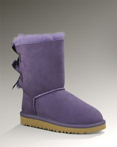 b2ca20c6c09d Girl s UGG Bailey Bow in Purple.. so cute.. there are purple ribbon