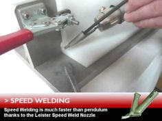 Plastic Welding: How to weld plastic with the Leister Triac Plastic Welding Kit