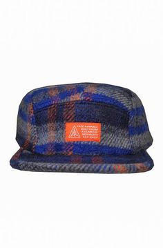 97739ebf1bb92 FAZE Apparel The Blue Collar 5-Panel Strapback Hat in Navy