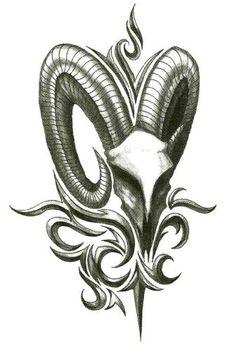 "Iron Tribal Big Horn Goat Temporary Body Art Tattoos 2.5"" x 3.5"" TMI http://www.amazon.com/dp/B00AAK6ZFE/ref=cm_sw_r_pi_dp_ARabwb1SQA9WX"