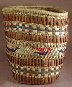 Hand Woven Cedar Native American Made Basket http://www.ebay.com/itm/Hand-Woven-Cedar-Native-American-Made-Basket-/370479807459?pt=LH_DefaultDomain_0=item5642513be3