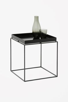 cos image of hay tray side table in black with roland. Black Bedroom Furniture Sets. Home Design Ideas