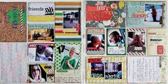 FABULOUS Project Life page by Carol Monson:: Spotted at My Scrapbook Nook