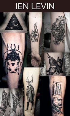 these tattoo artists are the reason i don't think i'll ever be able to get another tattoo. if i can't have it be this amazing i don't want it at all. ----- The 13 Coolest Tattoo Artists In The World